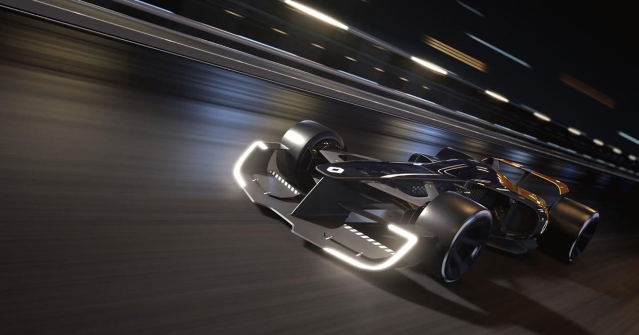コンセプトカーで表明。「ルノーはあと10年、F1参戦を続ける」