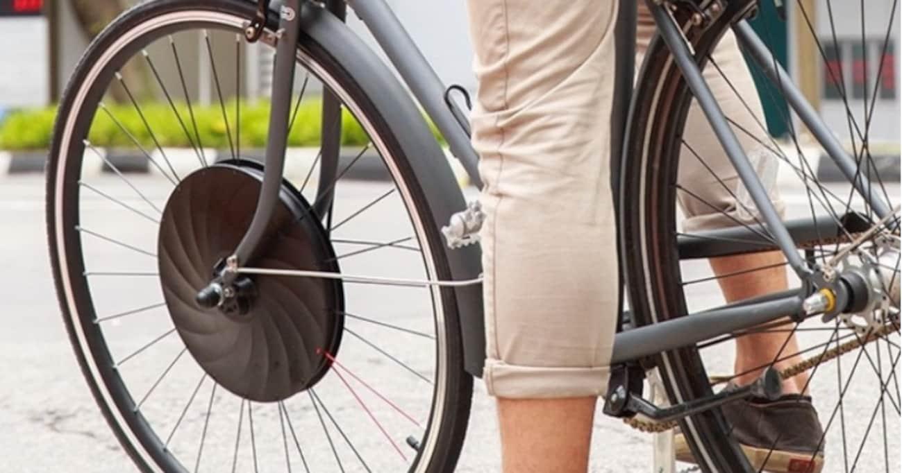 生活に革命を起こしそう! 海外で大人気の「どんな自転車も電動に変えられるタイヤ」が仰天レベル