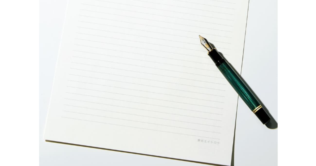 何を書くかではない。大切なのは、何で書くかである