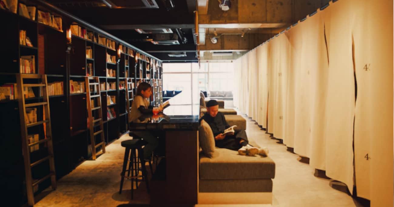 「泊まれて、飲める本屋」。ウワサのBOOK AND BED TOKYOが浅草にNEWオープン!