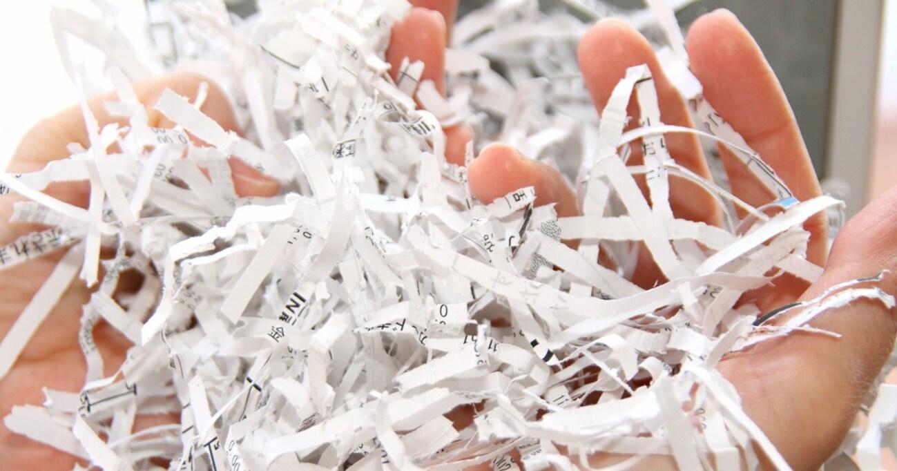 シュレッダーで誤裁断した書類を復元できたらマズいのか、真剣に考えてみた
