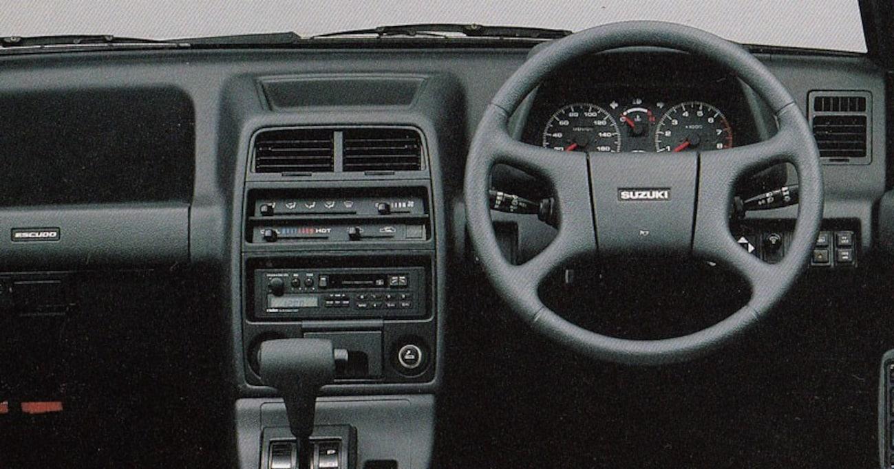 【中年名車図鑑|初代スズキ・エスクード】世界中にライトSUVムーブメントを巻き起こした都会派4WD
