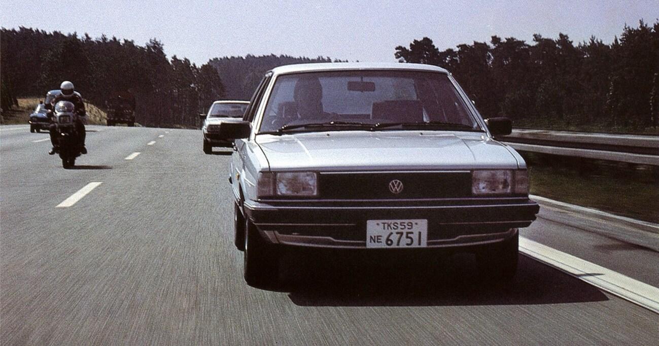 【中年名車図鑑|日産VWサンタナ】販売こそ低調だったが、日産にとっては大きな収穫だった
