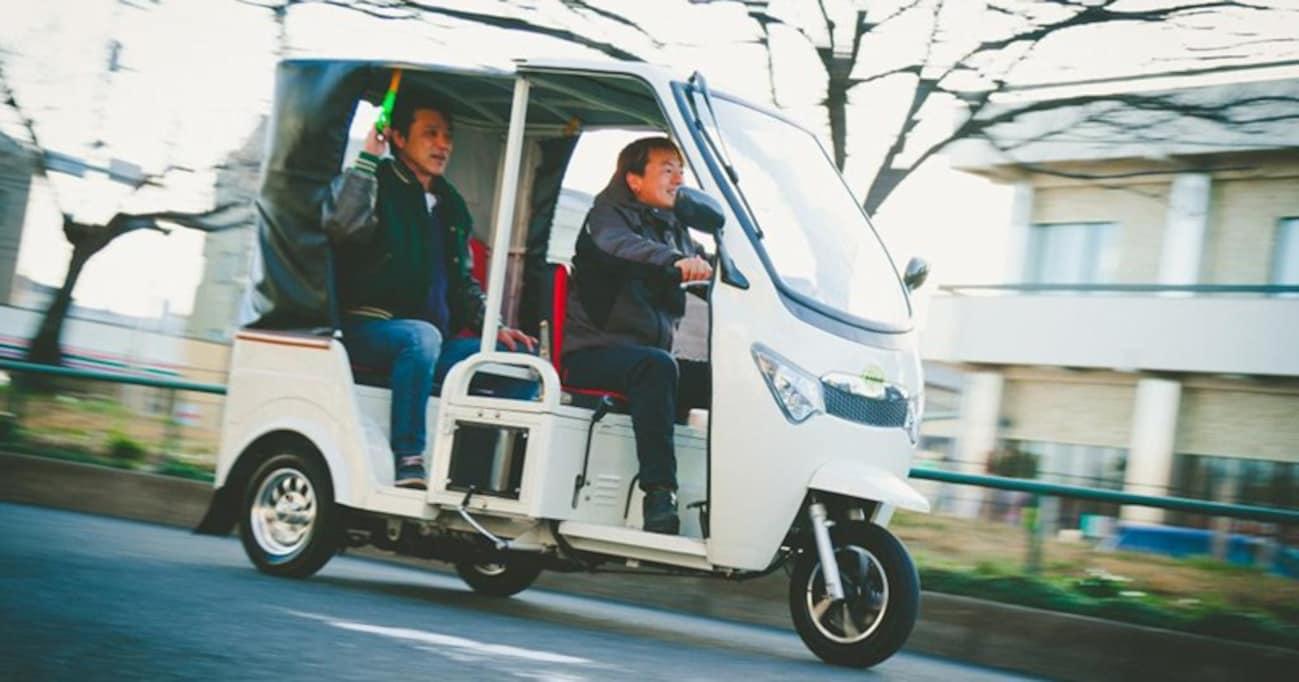 車検不要でコスパ良し!「トゥクトゥク」が日本で買えるなんて!