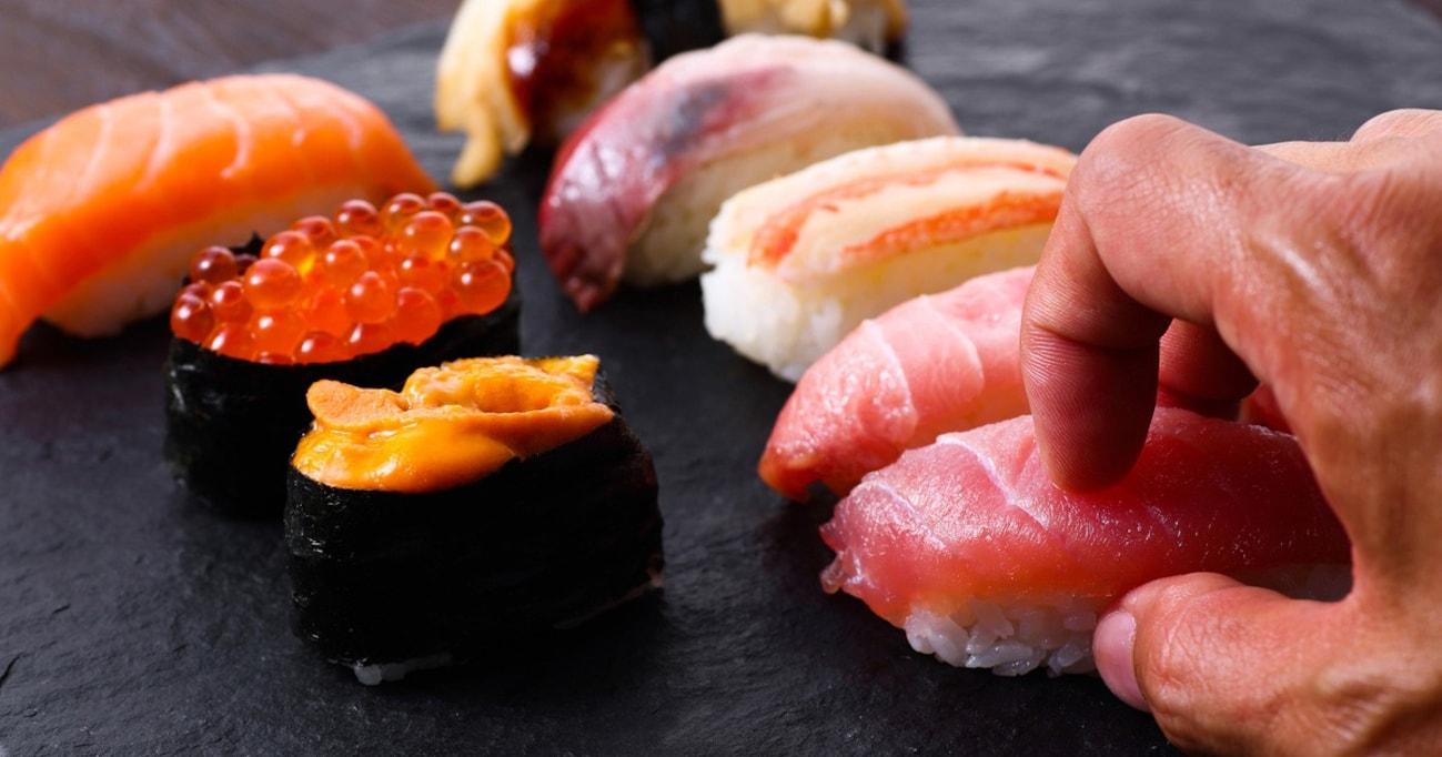 手と箸どっちが正解? 食べる順番は? 今さら聞けない寿司の食べ方マナー
