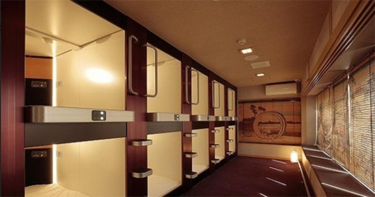 """泊まれる遊郭から最新カプセルホテルまで、今年泊まってみたい""""進化系""""宿とは"""