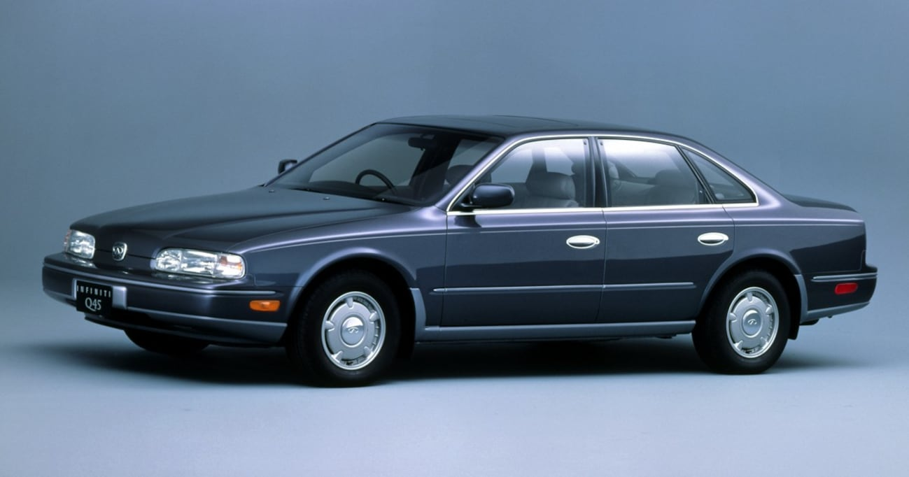 高級車造りの概念を大きく変えた「ジャパン・オリジナル」大型高級サルーン【中年名車図鑑|日産インフィニティQ45】