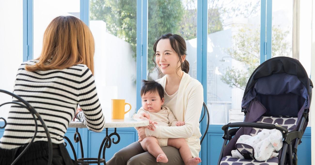 若いママ友との年齢の違いを自虐していたら…ママ友のポジティブすぎる考え方に称賛の声