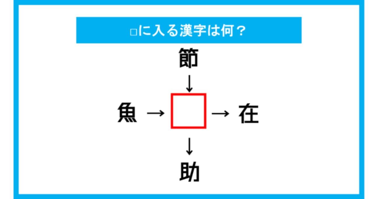 【漢字穴埋めクイズ】□に入る漢字は何?(第128問)