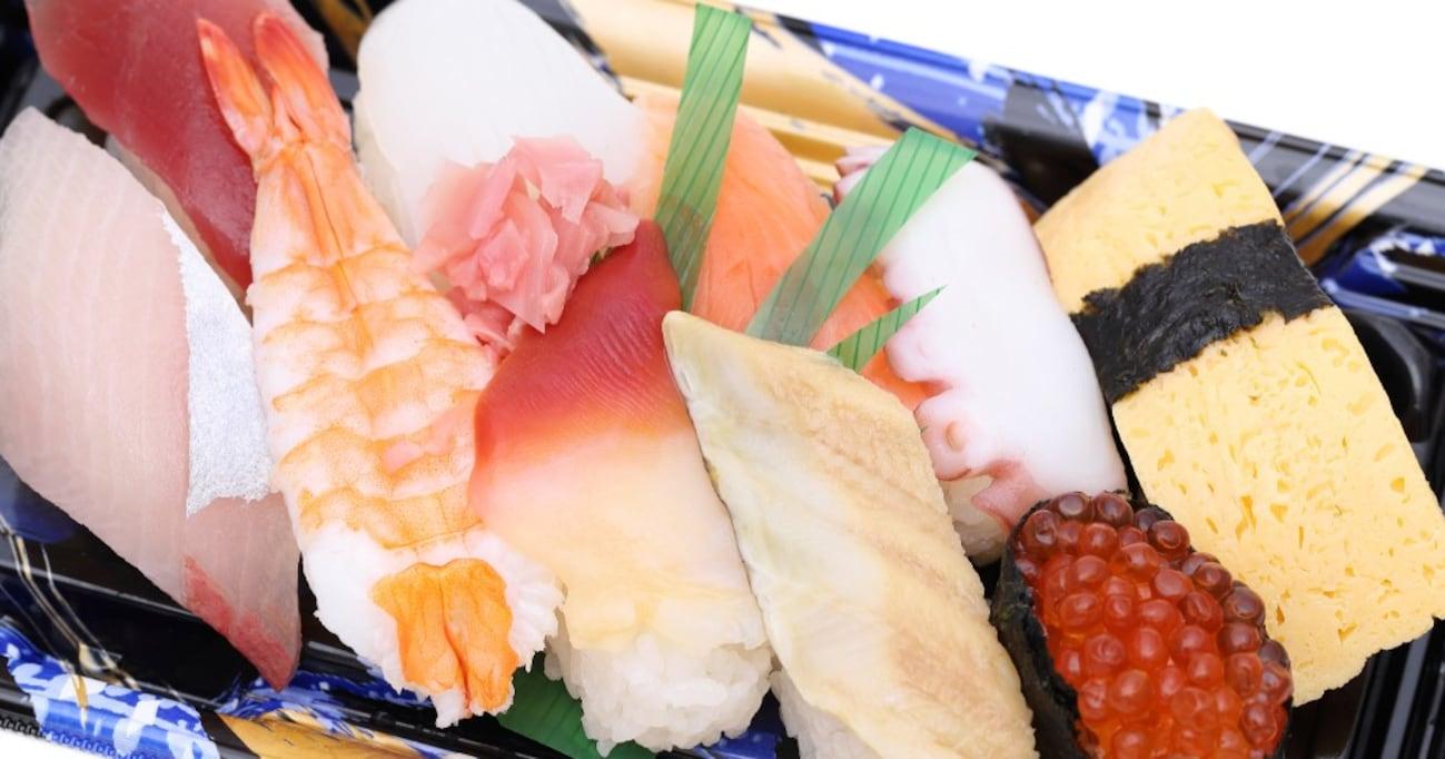 【知らなきゃ損】スーパーお寿司のクオリティが爆上がりする超裏ワザが簡単すぎる件!!