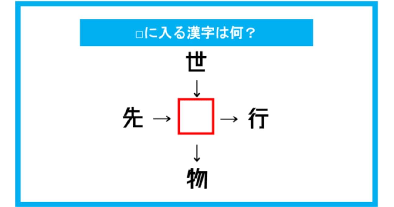 【漢字穴埋めクイズ】□に入る漢字は何?(第190問)