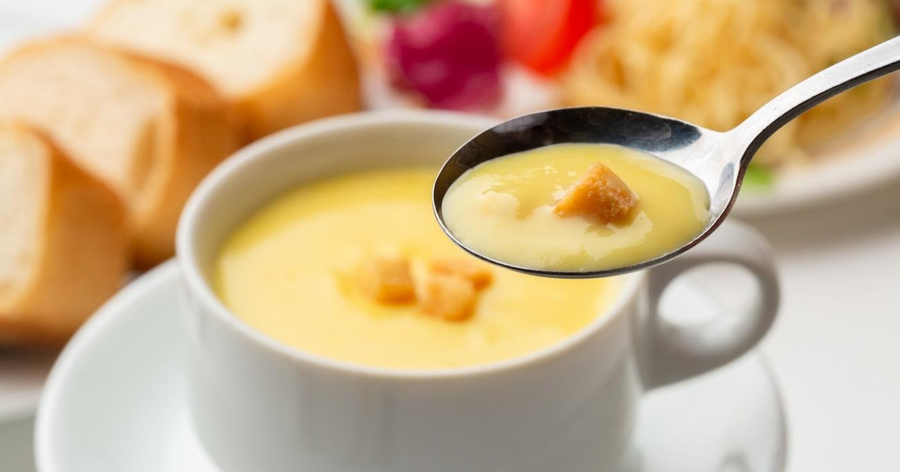 【クノール®カップスープ】アレンジレシピ/きのこの旨味が何倍にもブースト…!!