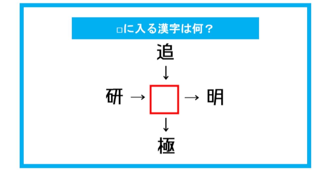 【漢字穴埋めクイズ】□に入る漢字は何?(第278問)