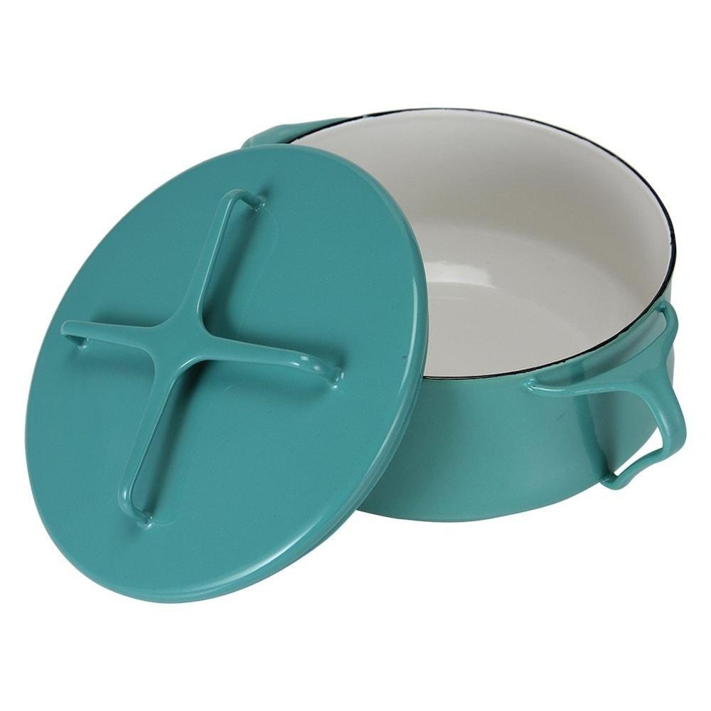 ホーローの両手鍋