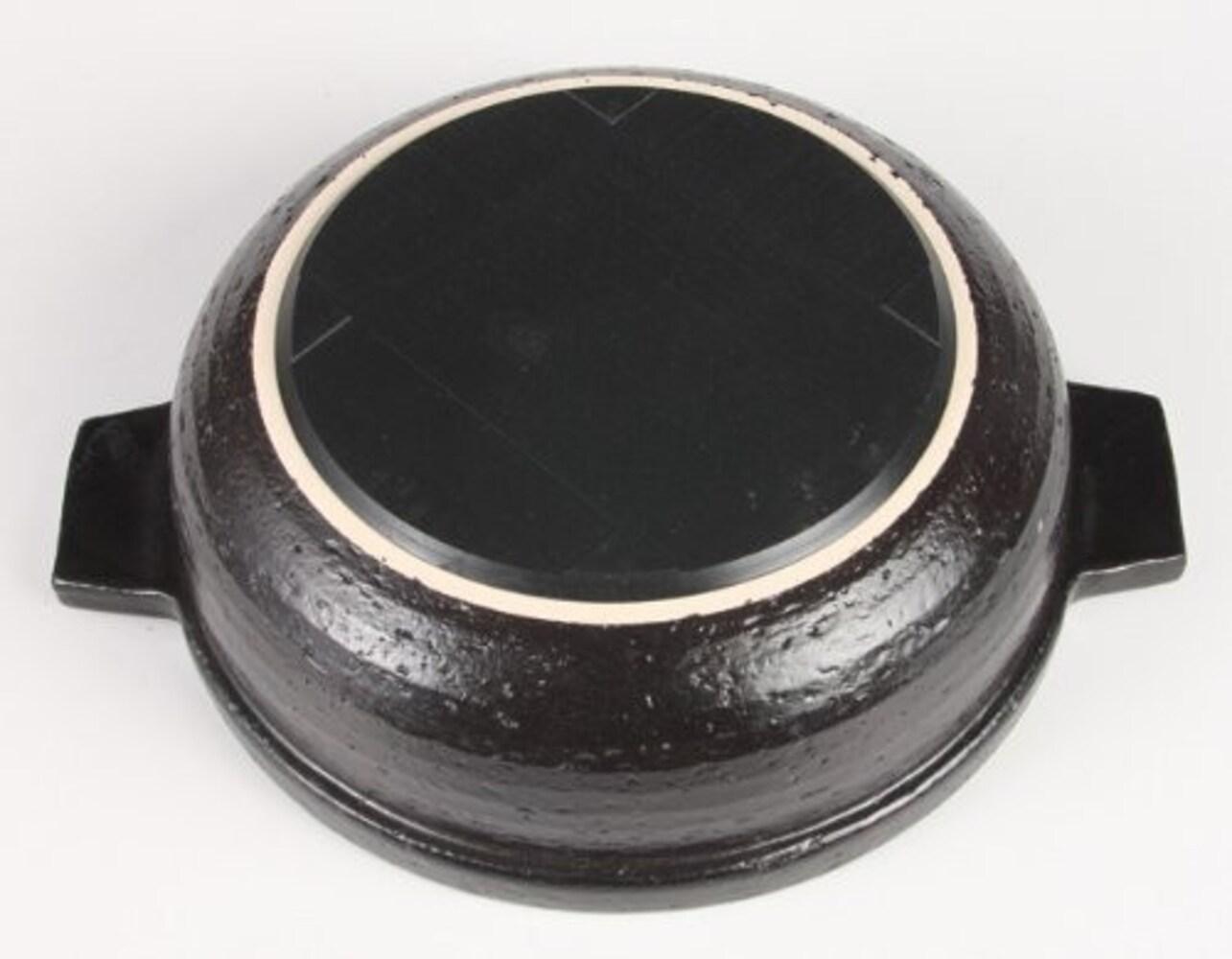 IH対応の土鍋の裏側
