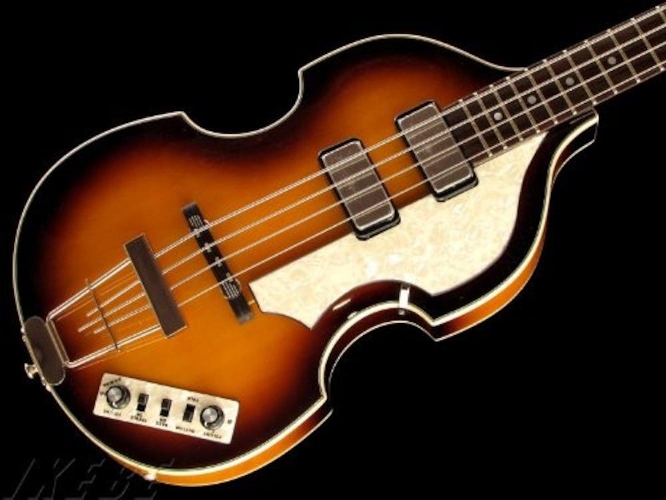 ヘフナー社のバイオリンベース