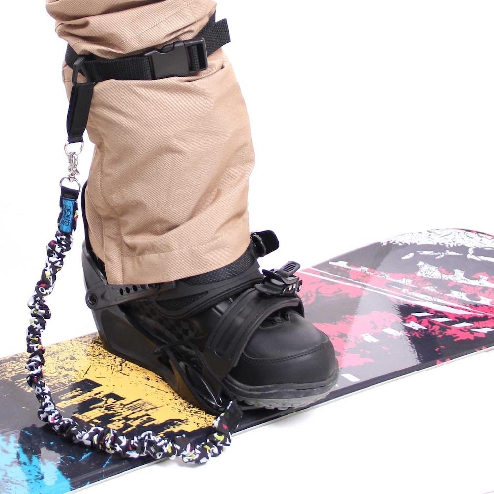 スノーボードのリーシュコード