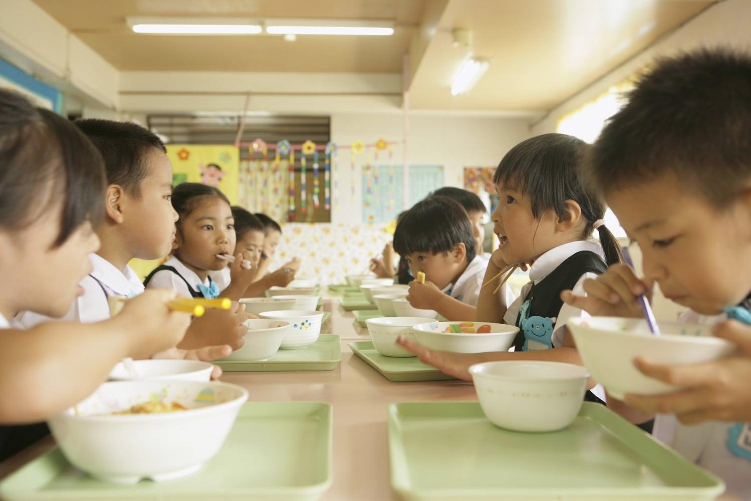 幼稚園の給食