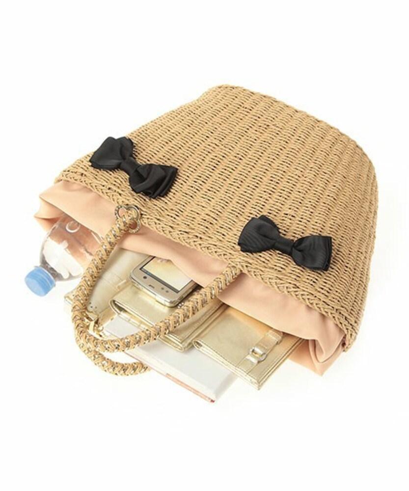 アンテプリマのリボンモチーフかごバッグ