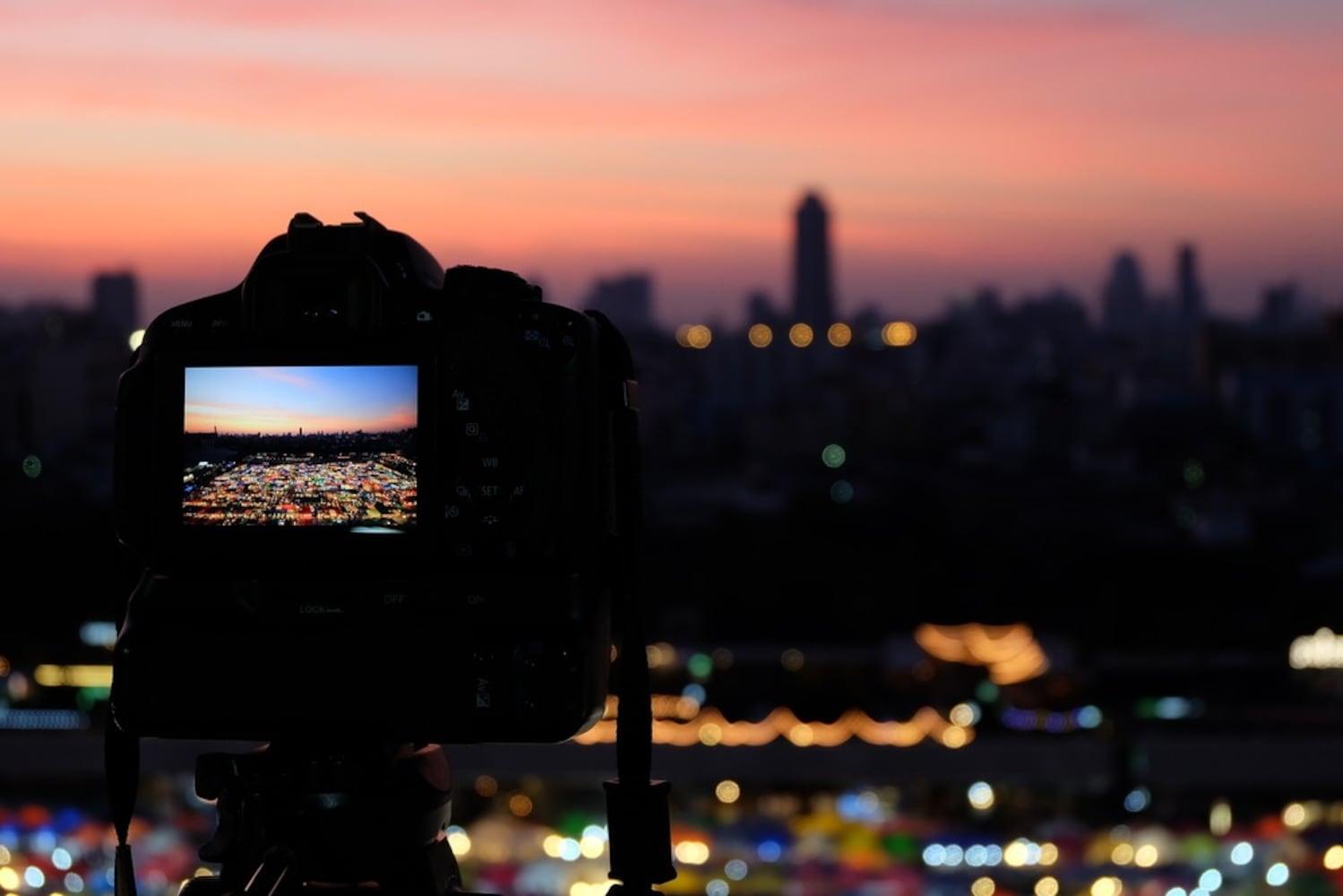 夜景の撮影