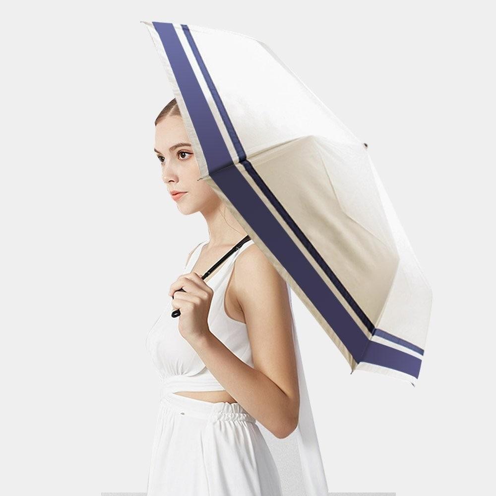 コンパクトな晴雨兼用折りたたみ傘