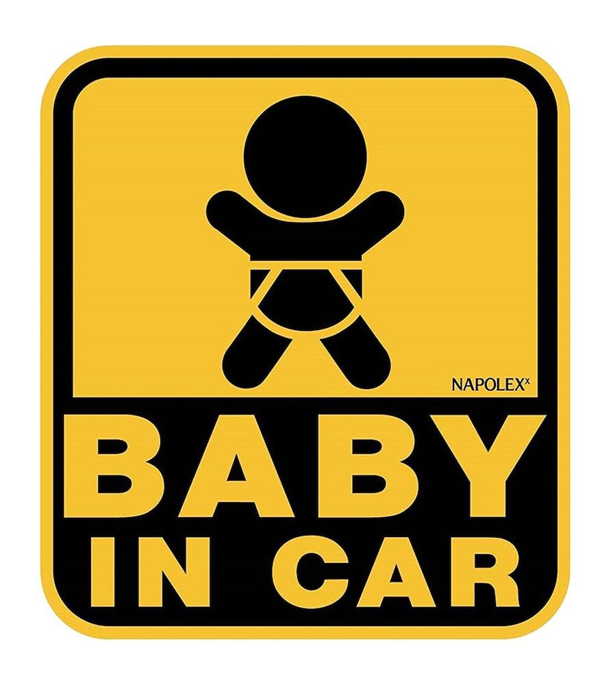 ナポレックス BABY IN CAR セーフティサイン