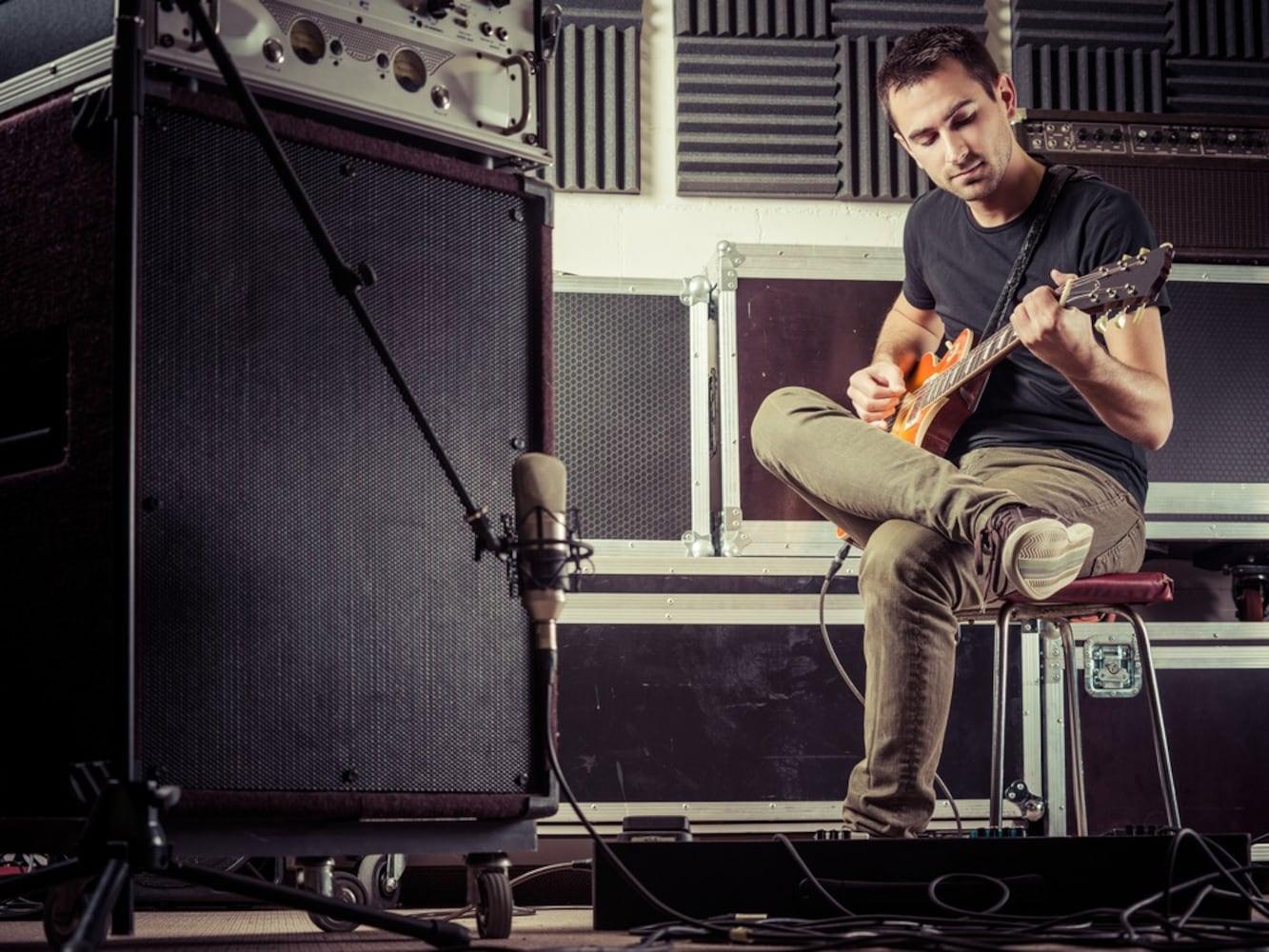 ギターマイクレコーディング