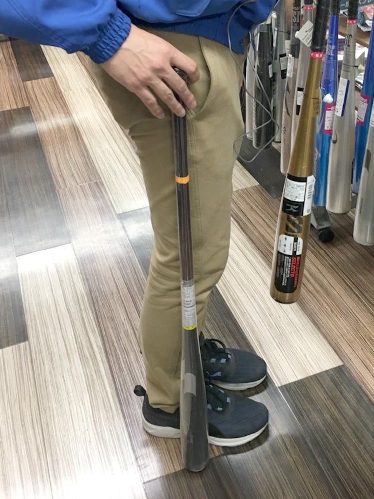 バットの長さの選び方