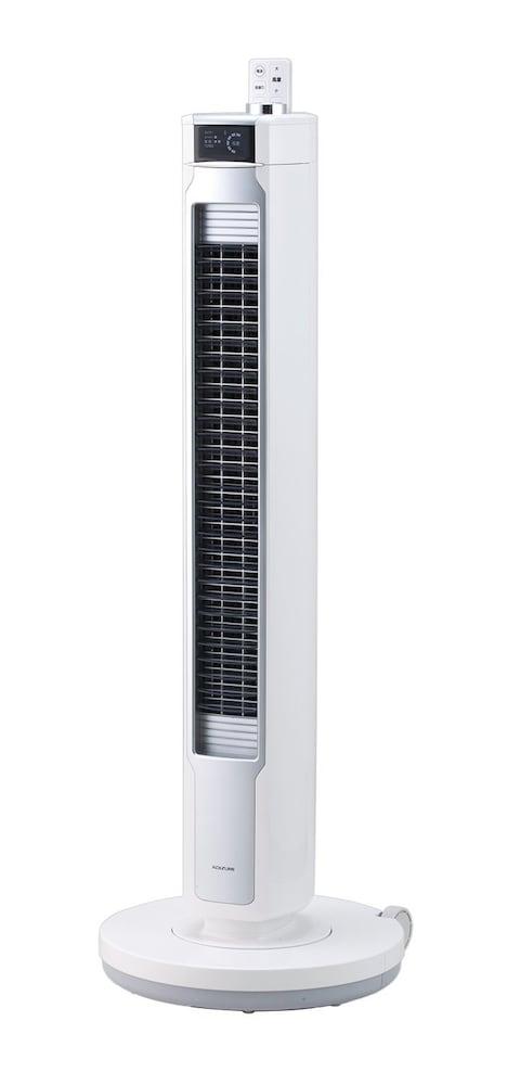 コイズミ 扇風機 コードレス タワーファン