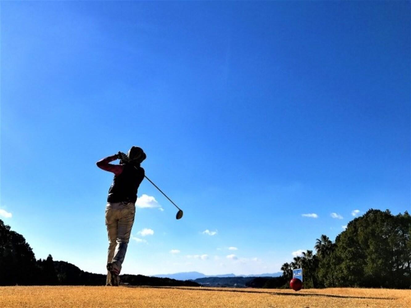 秋冬のゴルフウェア