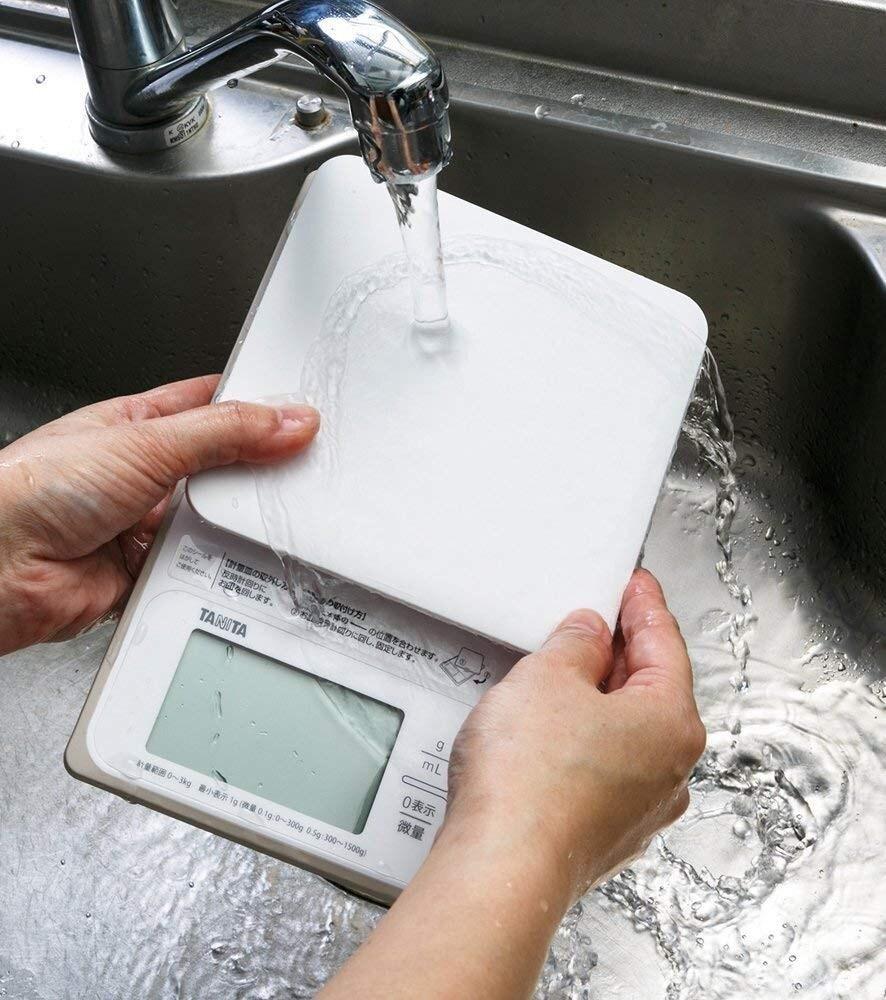 タニタ 洗えるデジタルクッキングスケール