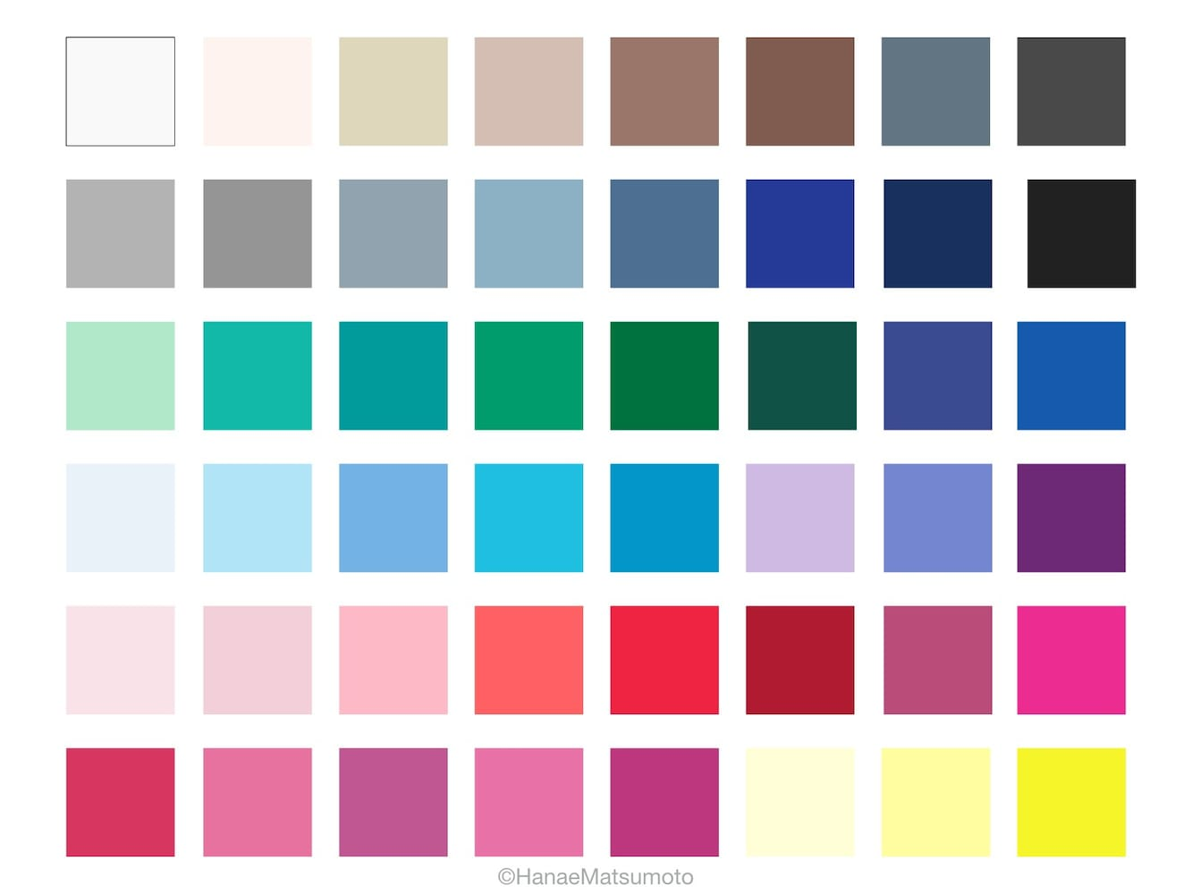 カラー標本