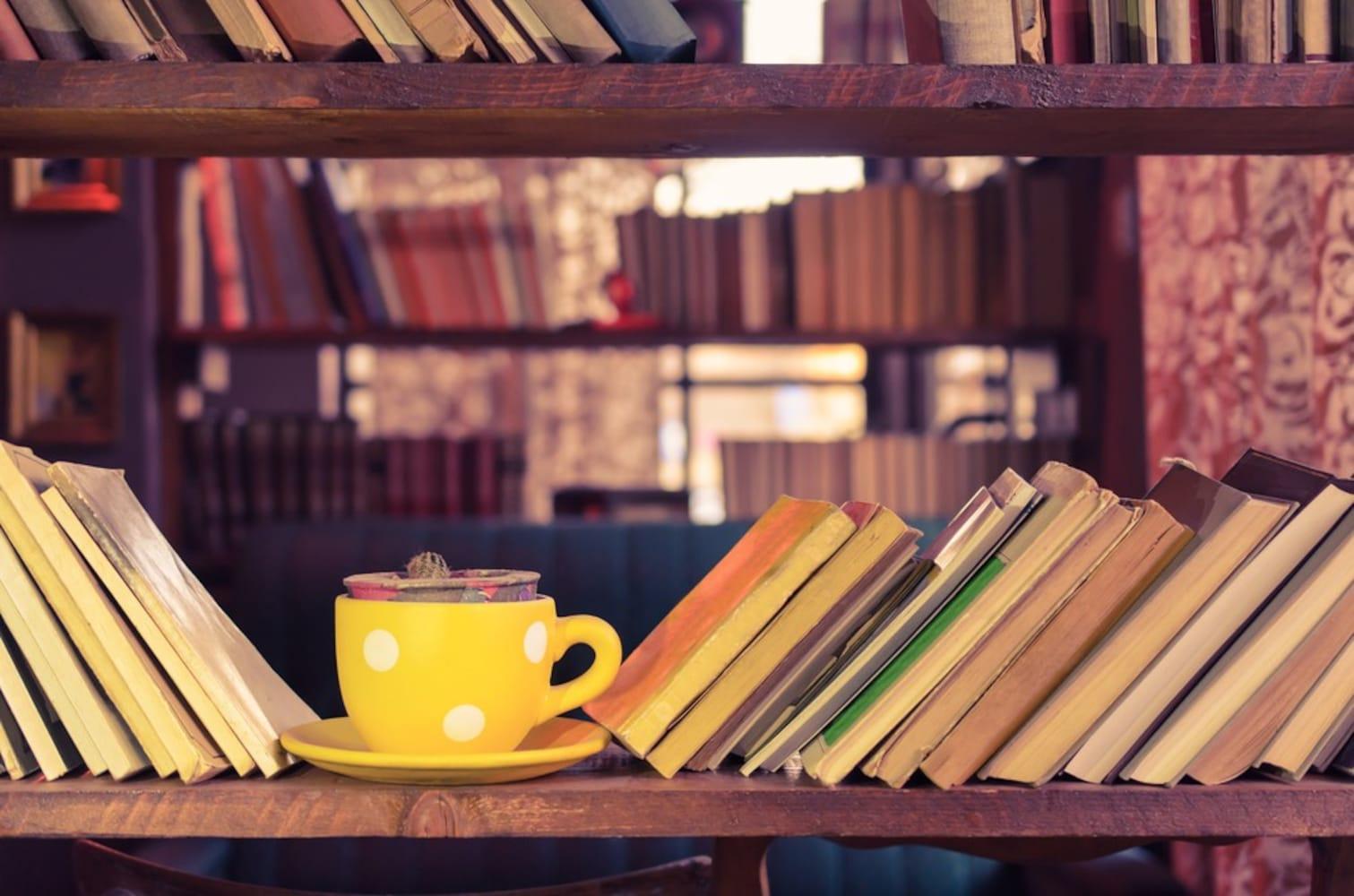 大きめの本棚と小物