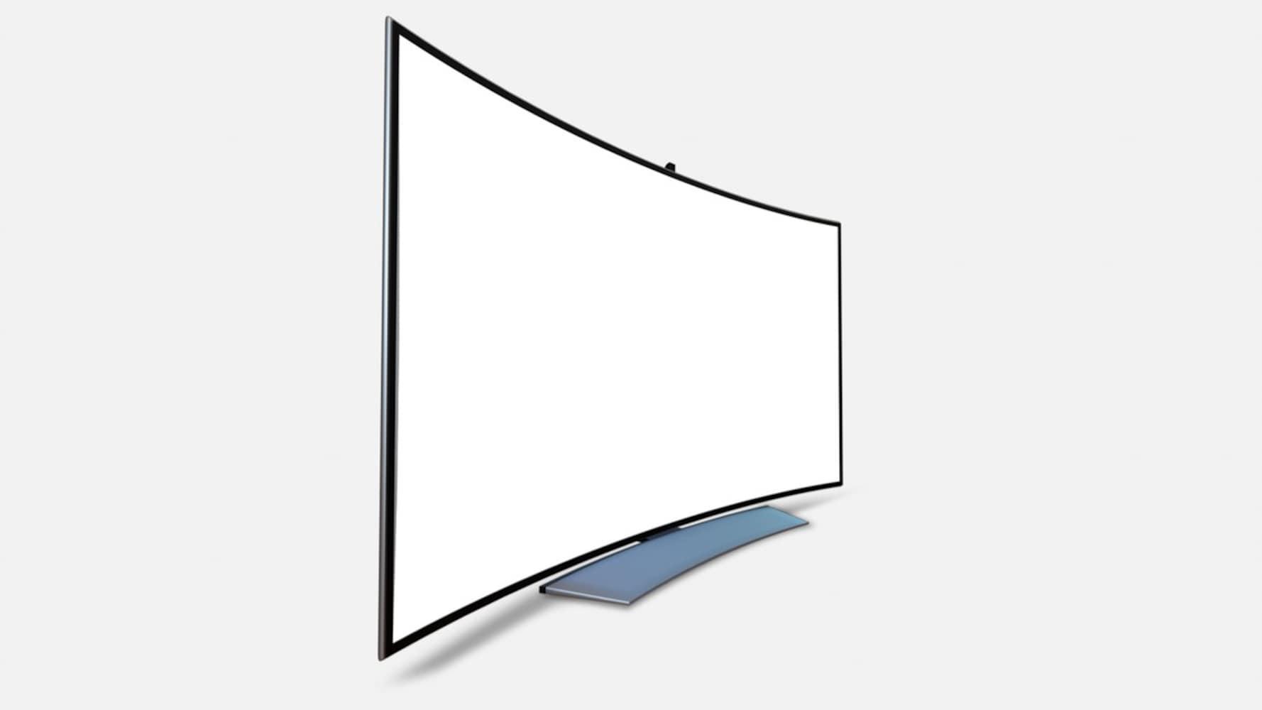 形状 仕事用なら平面タイプ、映画やゲーム用なら曲面タイプ