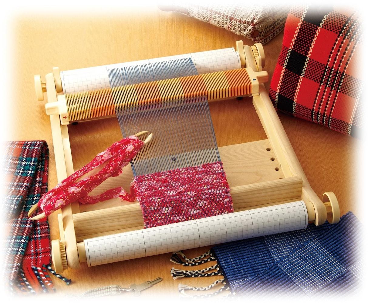 織り幅|40cmなら「マフラー」60cm以上なら「テーブルクロス」も