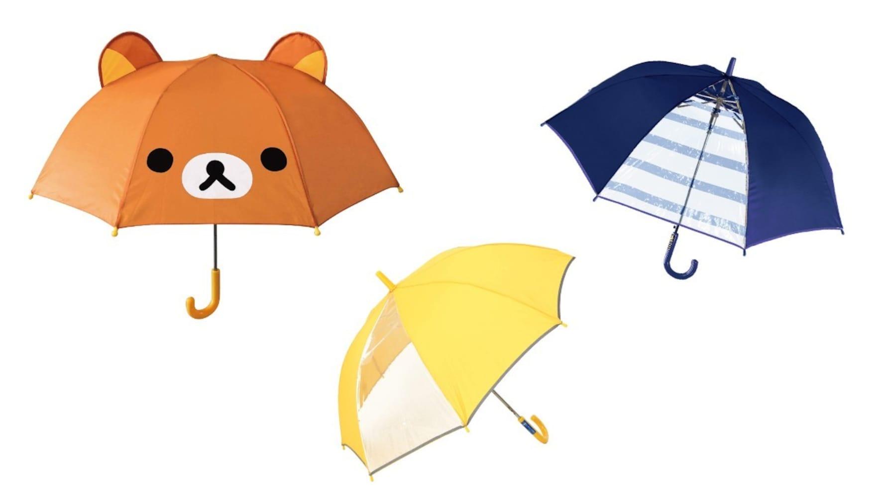 開き方 扱いやすいのはジャンプ傘、ルールを周知してあげて