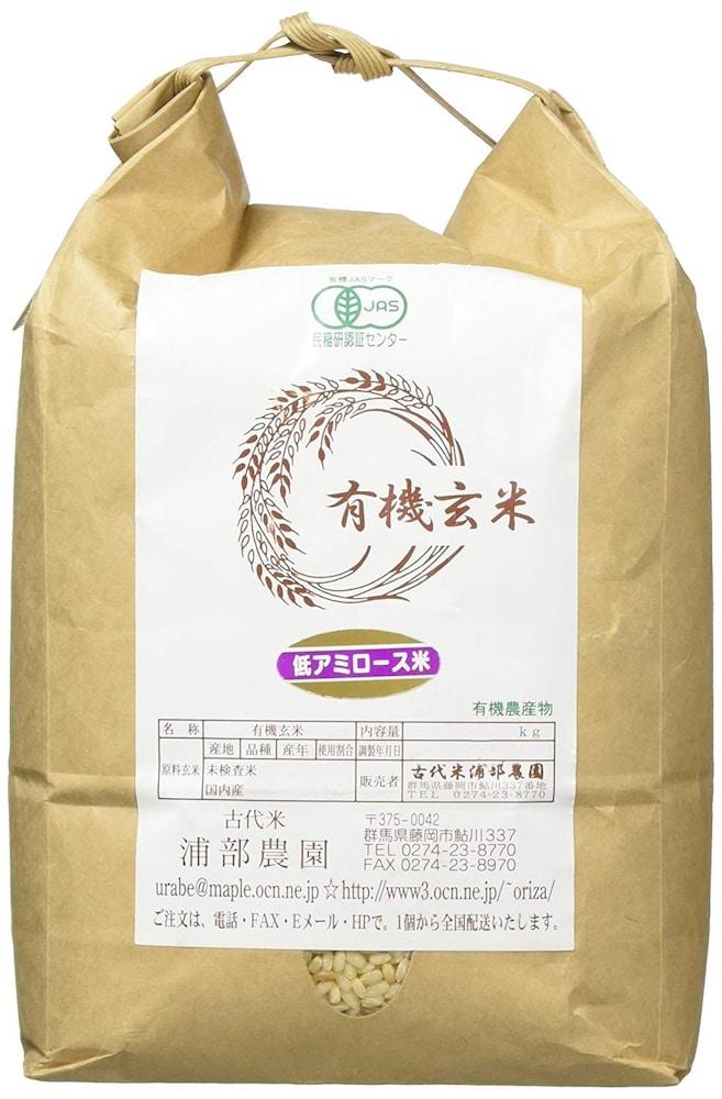 低アミロース米|玄米のパサパサ感をなくしたモチモチ触感!