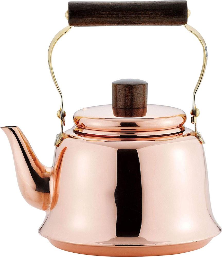 銅製でレトロな雰囲気を味わうのも◎
