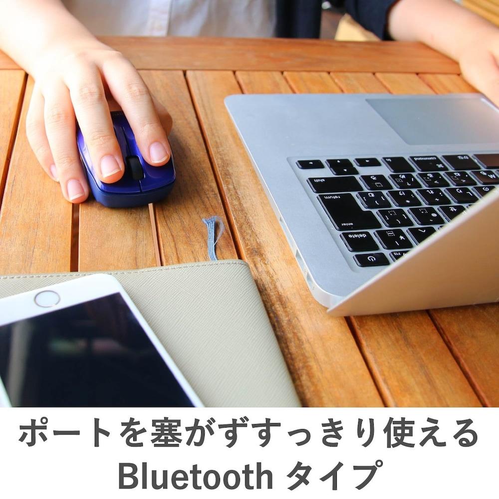 Bluetooth|USBレシーバー不要!タブレットなどペアリングで接続