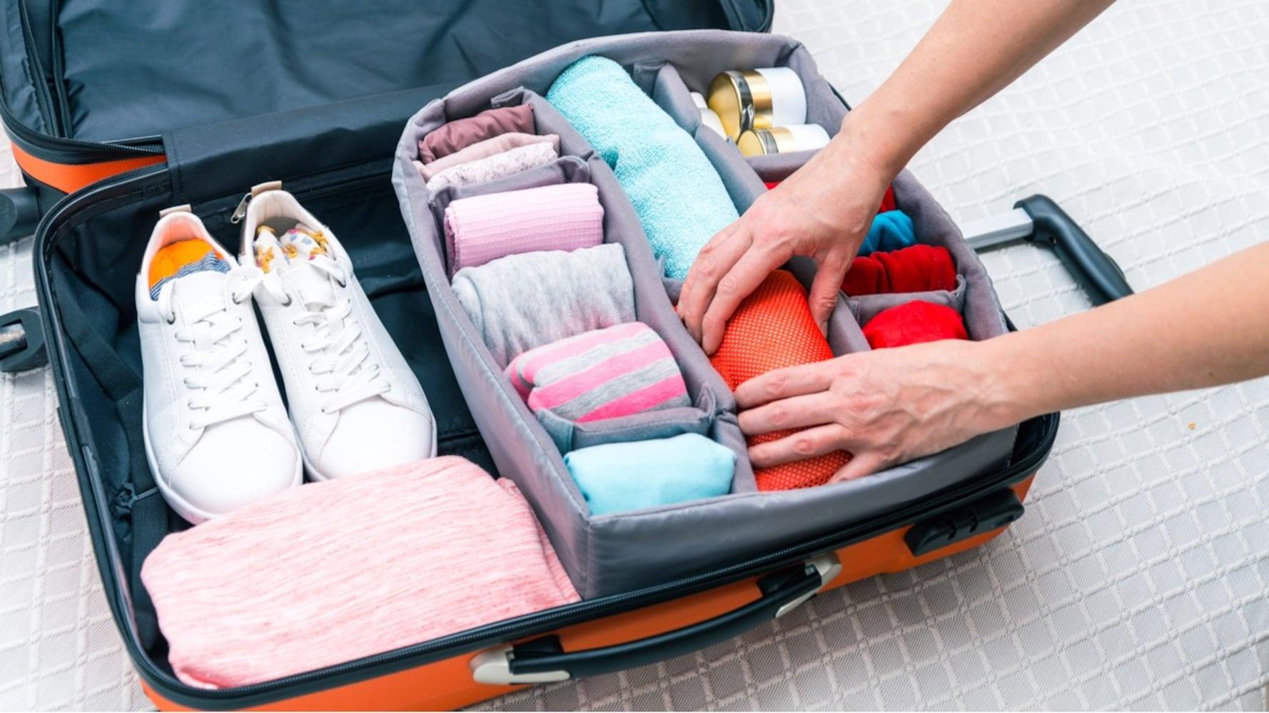 荷物の綺麗な詰め方・パッキングのコツ