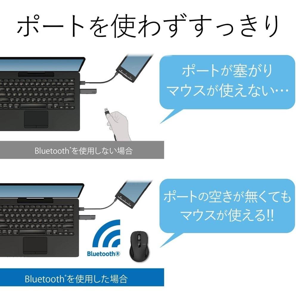 Bluetooth|レシーバー不要、スマホやタブレットにも対応