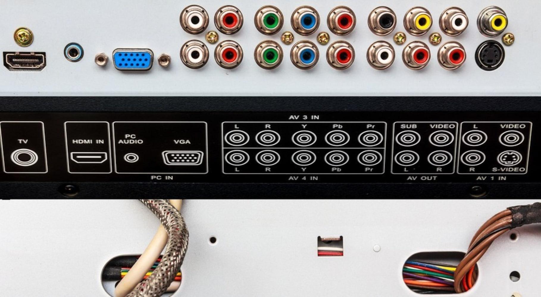接続端子|HDMIが一般的
