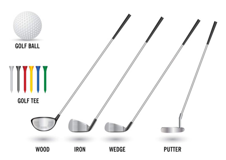 ゴルフクラブの種類を解説!ドライバー、アイアン、ユーティリティとは?