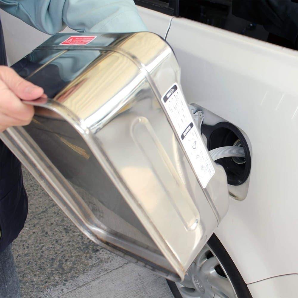 金属容器|最大容量60Lで多く持ち運べる