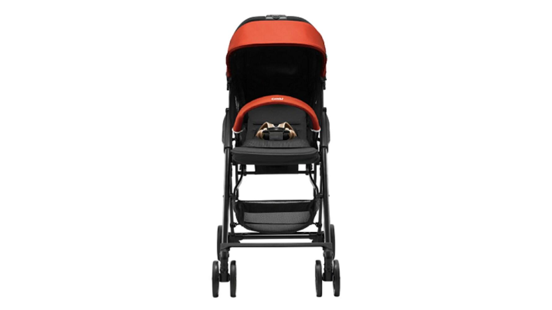 赤ちゃんを路面の熱やホコリから守るハイシートタイプが安心