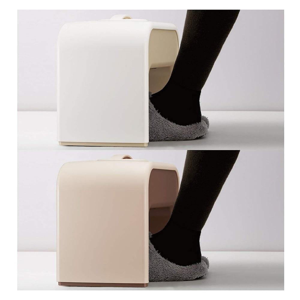 足を直接のせないタイプ|靴のままでOK!オフィスで使いやすい