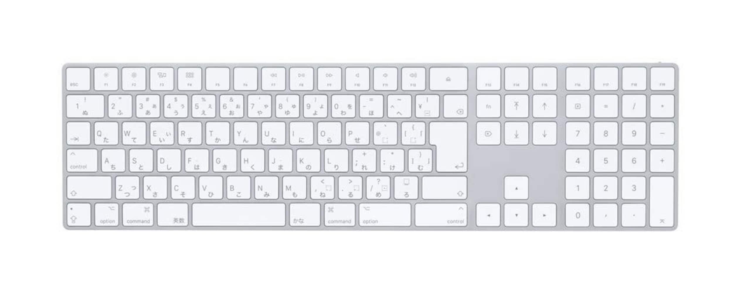 Mac用キーボードには「command(⌘)キー」と「optionキー」がある