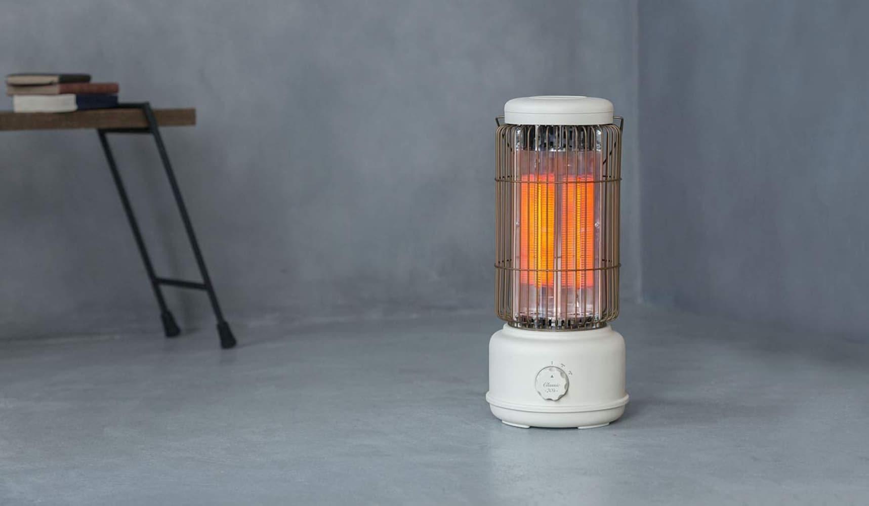 電源を入れてからすぐに暖まる、電気のみを熱源とするので手軽さも◎