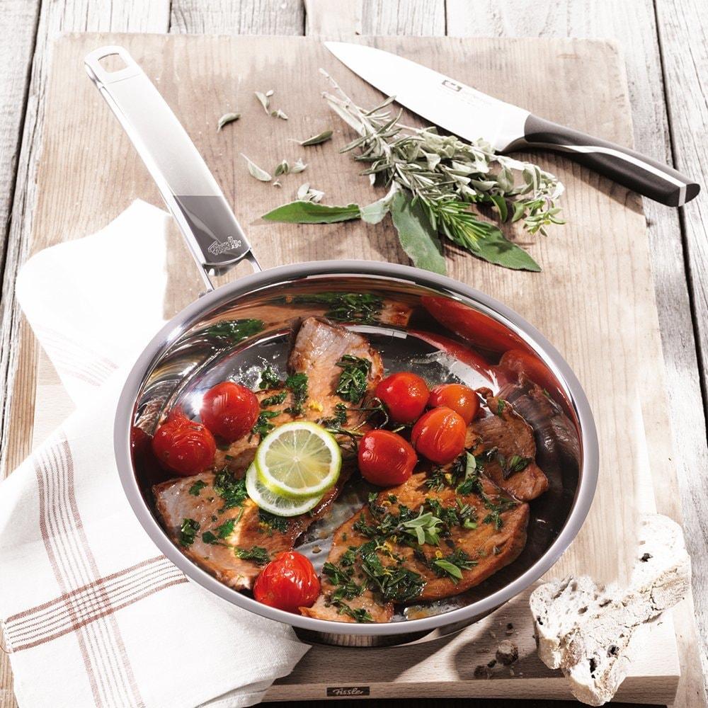 ステンレスフライパン料理イメージ画像