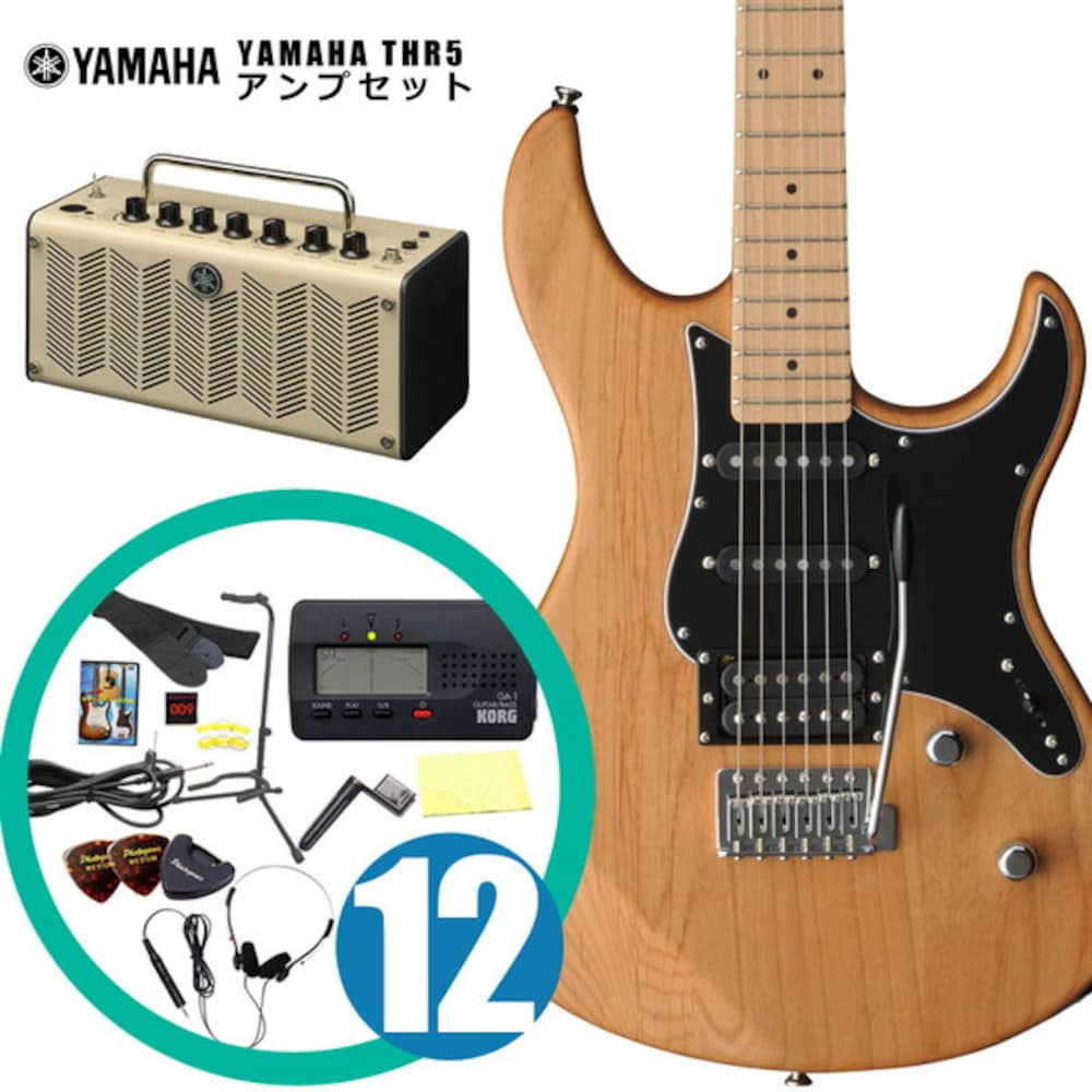 YAMAHA / エレキギター入門セット PAC-112VMX YNS Pacifica